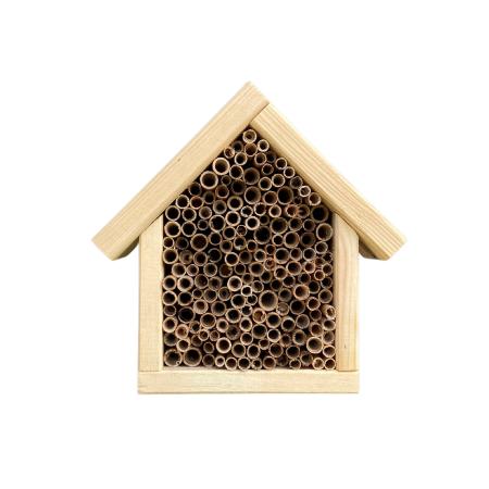 Domek dla pszczół murarek - naturalny zdjęcie 1