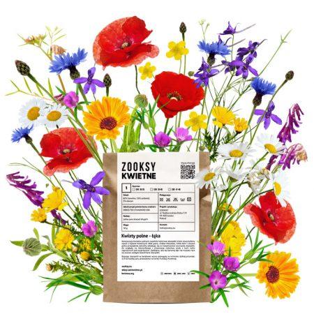 Skarpetki z kwiatami polnymi zdjęcie 2