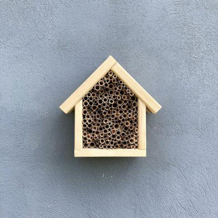 Domek dla pszczół murarek - naturalny zdjęcie 3