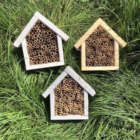 Domek dla pszczół murarek - naturalny zdjęcie 4