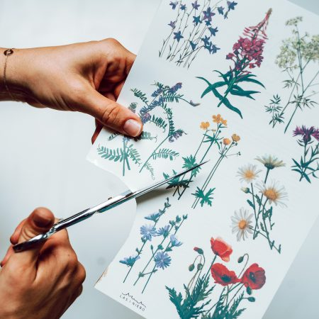 Tatuaże zmywalne Dzikie kwiaty zdjęcie 3
